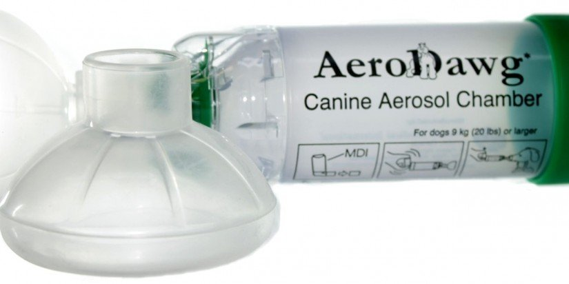 AeroDawg Canine Aerosol Chamber for Dogs - Large
