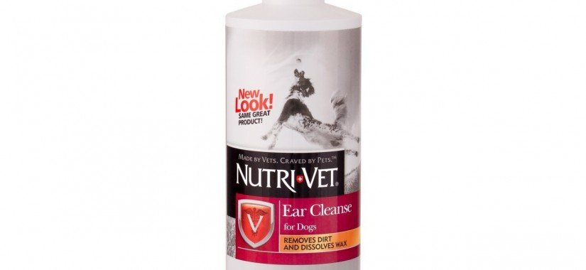 Nutri-Vet Ear Cleanse Liquid for Dogs – 8oz