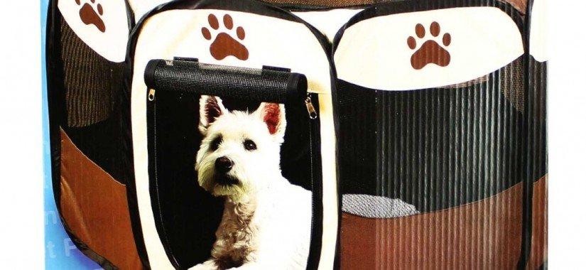 Portable Doggie Play Pen, Small Size