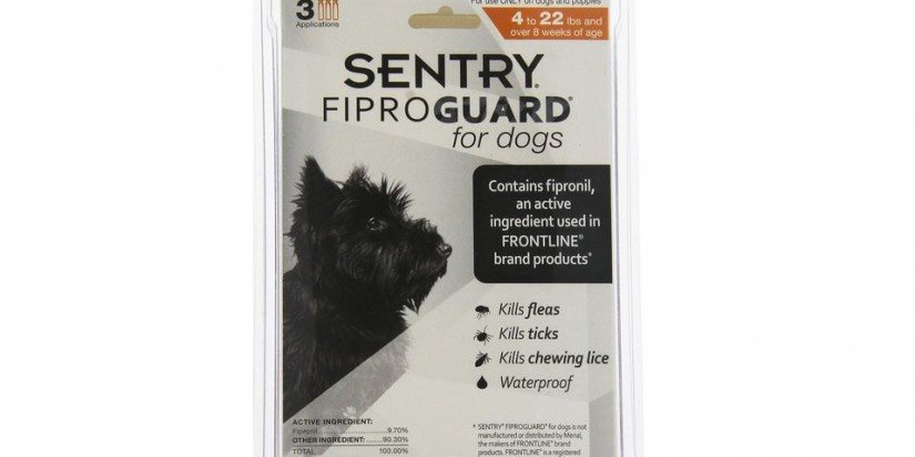 Sentry Fiproguard Squeeze On for dogs