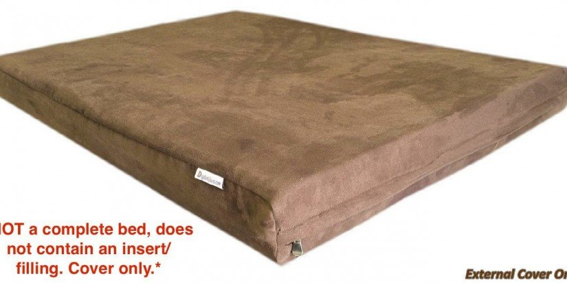 Deluxe Top Quality Chocolate Brown MicroSuede - Cover Only