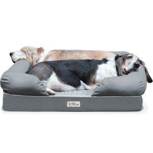 new-petfusion-ultimate-dog-lounge-bed-mediumlarge-slate-gray-36-x-28-x-9-5-premium-edition-w-solid-4-memory-foam