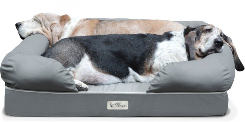 new-petfusion-ultimate-dog-lounge-bed-mediumlarge-slate-gray-36-x-28-x-9-5-premium-edition-w-solid-4-memory-foam