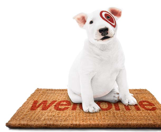 Target puppy commercial