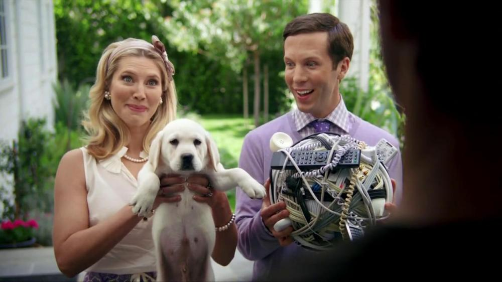 Vonage puppy TV commercial