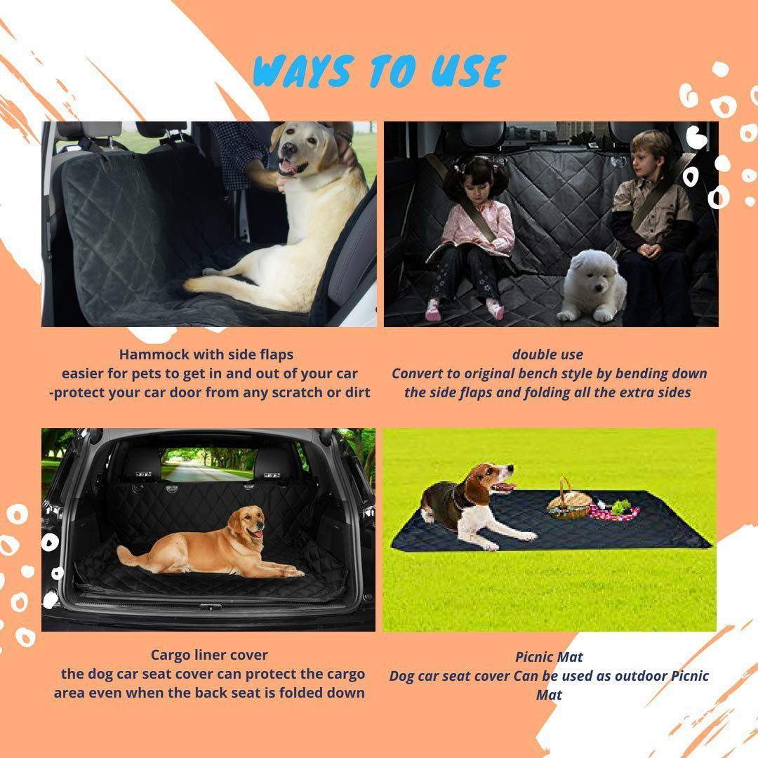 Heavy duty car seat covers